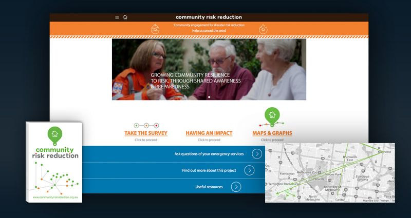 Community Risk Reduction website